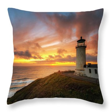 North Head Dreaming Throw Pillow by Ryan Manuel