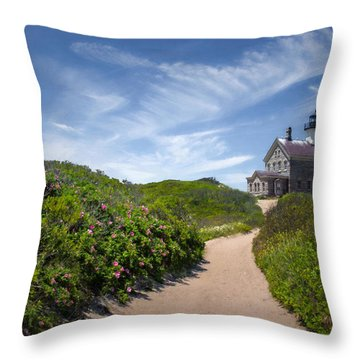 North Light Throw Pillow