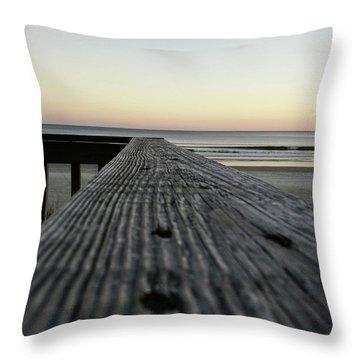 North Myrtle Beach Evening Throw Pillow