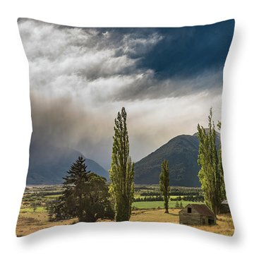 Throw Pillow featuring the photograph North Of Glenorchy by Gary Eason