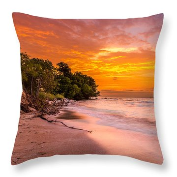 North Point Sunrise Throw Pillow