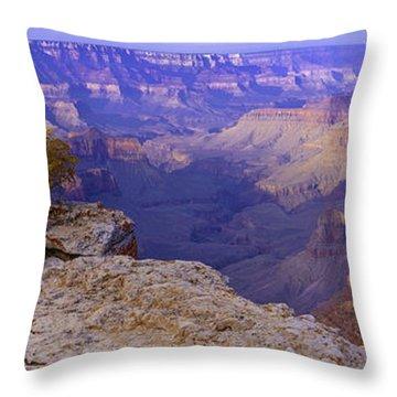 North Rim Grand Canyon Throw Pillow