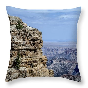 North Rim Layers Of Time Throw Pillow