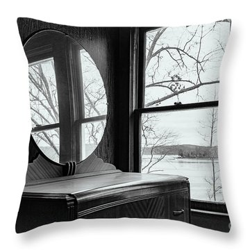 North Shore House Throw Pillow