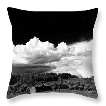 North Storm Throw Pillow