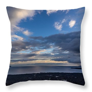 North Tahoe Storm Throw Pillow