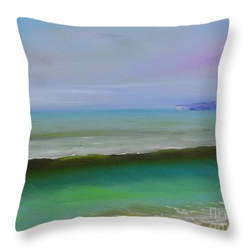 North To Dana Point Throw Pillow