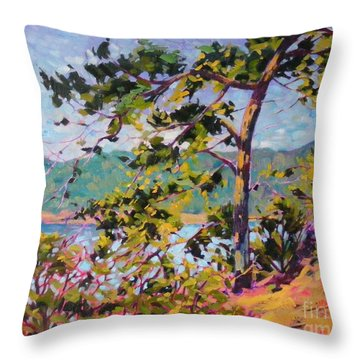North View Throw Pillow