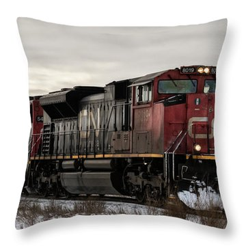 Northbound Double Stack Throw Pillow