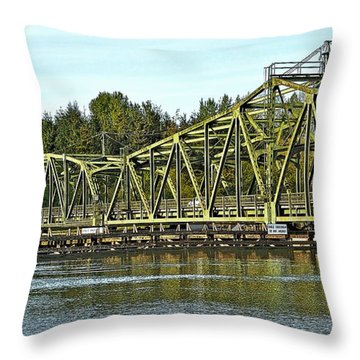 Northbound  Throw Pillow