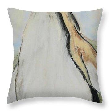 Northern Bliss Throw Pillow by Cori Solomon