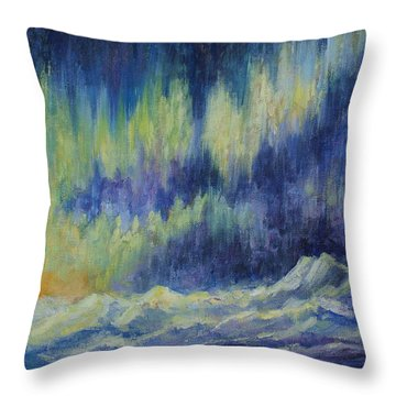 Northern Experience Throw Pillow by Joanne Smoley