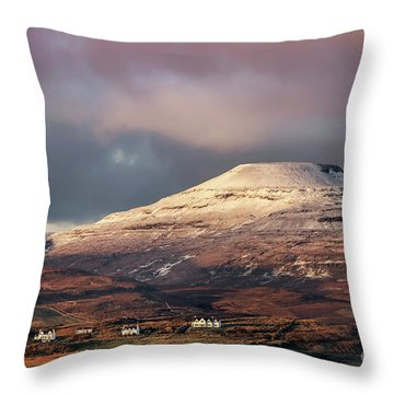 Northern Isolation Throw Pillow