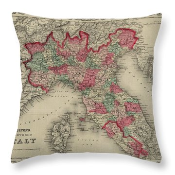 Northern Italy Throw Pillow