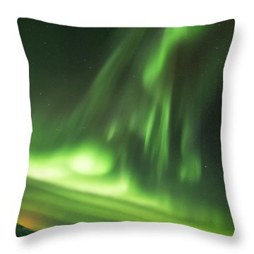 Northern Lights 5 Throw Pillow