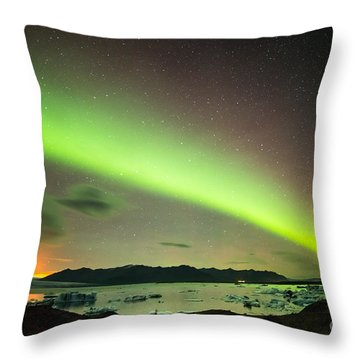 Northern Lights 6 Throw Pillow