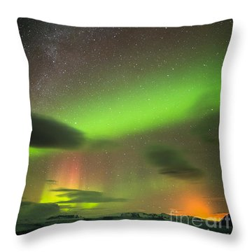 Northern Lights 8 Throw Pillow
