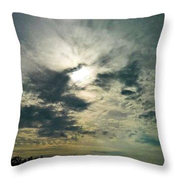 Northern Sky Throw Pillow