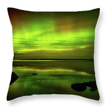 Northern Throw Pillow
