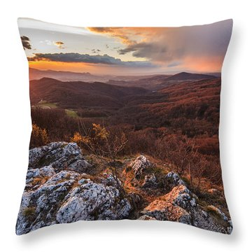 Throw Pillow featuring the photograph Northern Territory by Davorin Mance