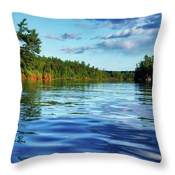 Northern Waters Throw Pillow