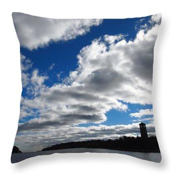 Northwest Arm Throw Pillow