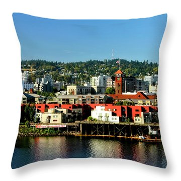 Northwest Portland Throw Pillow