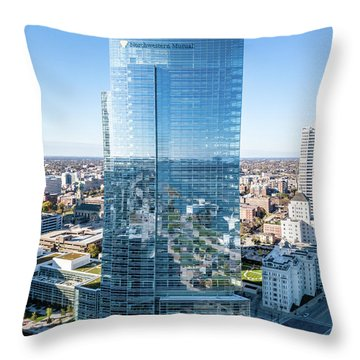 Northwestern Mutual Tower Throw Pillow