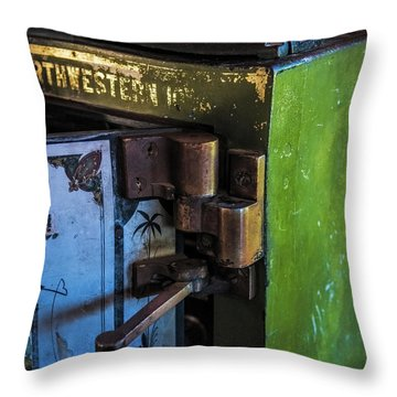 Throw Pillow featuring the photograph Northwestern Safe by Paul Freidlund