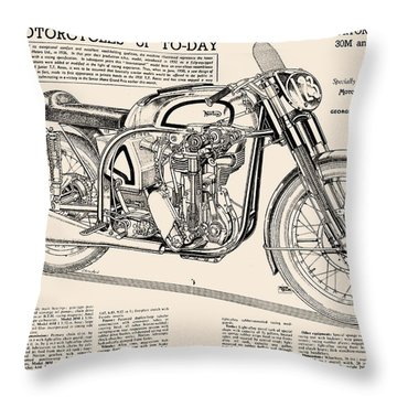 Norton 30m Throw Pillow