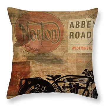 Norton Throw Pillow by Cinema Photography