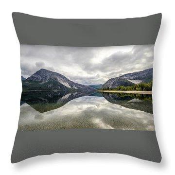 Norway I Throw Pillow