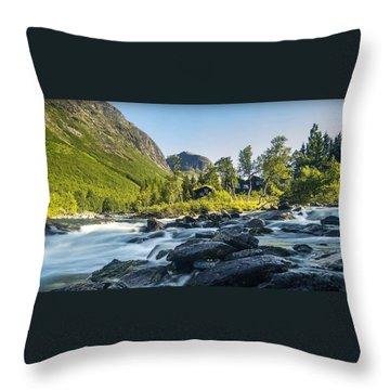 Norway II Throw Pillow