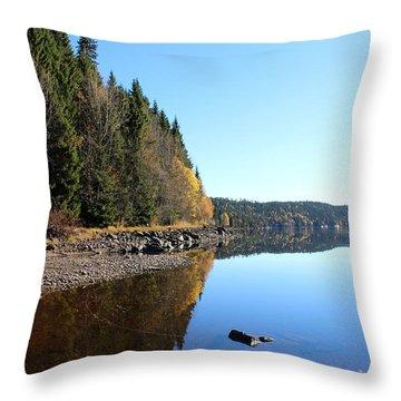 Norwegian Atumumn  Throw Pillow