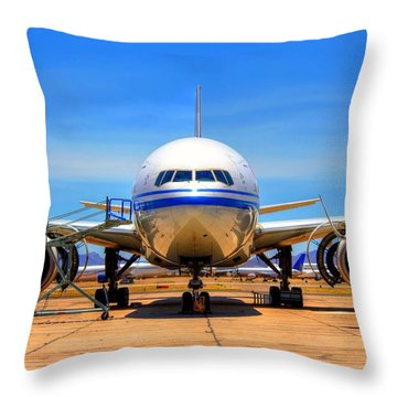 Nose Throw Pillow