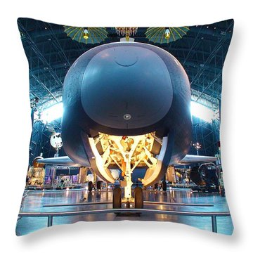 Nose Down - Enterprise Throw Pillow by Charles Kraus