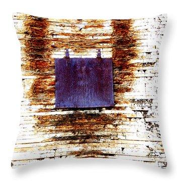 Nose Job  Throw Pillow by Lin Haring