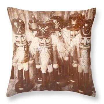 Nostalgic Childhood Mementos Throw Pillow