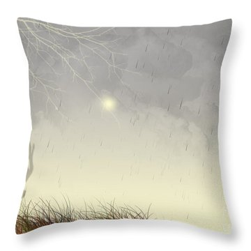 Nostalgic Moments Throw Pillow by Trilby Cole