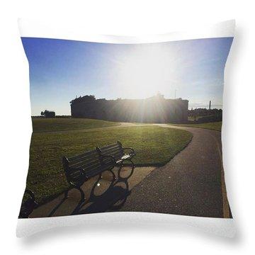 South End Splendor  Throw Pillow