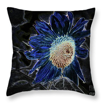 Not A Sunflower Now Throw Pillow
