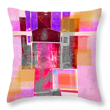 Not All In Heaven I Have Hated Throw Pillow by Danica Radman