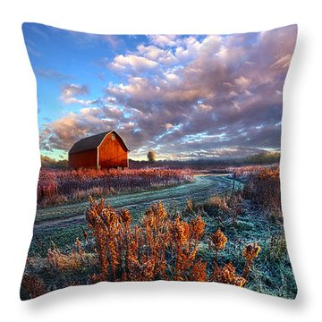 Not All Roads Are Paved Throw Pillow