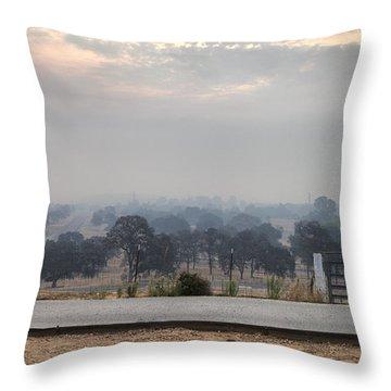 Not Clouds Throw Pillow
