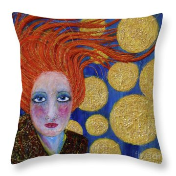 Not Easy Being Me Throw Pillow
