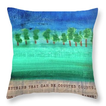 Not Everything Throw Pillow