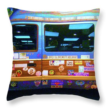 Grateful Dead - Not Fade Away Throw Pillow