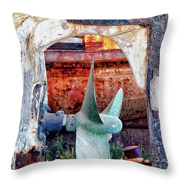 Not For Turning Throw Pillow