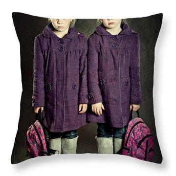 Twins Throw Pillows