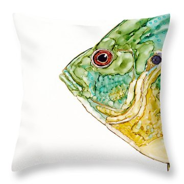 Not In Your Pan Throw Pillow